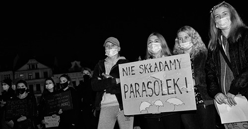 Cieszyn strajk kobiet