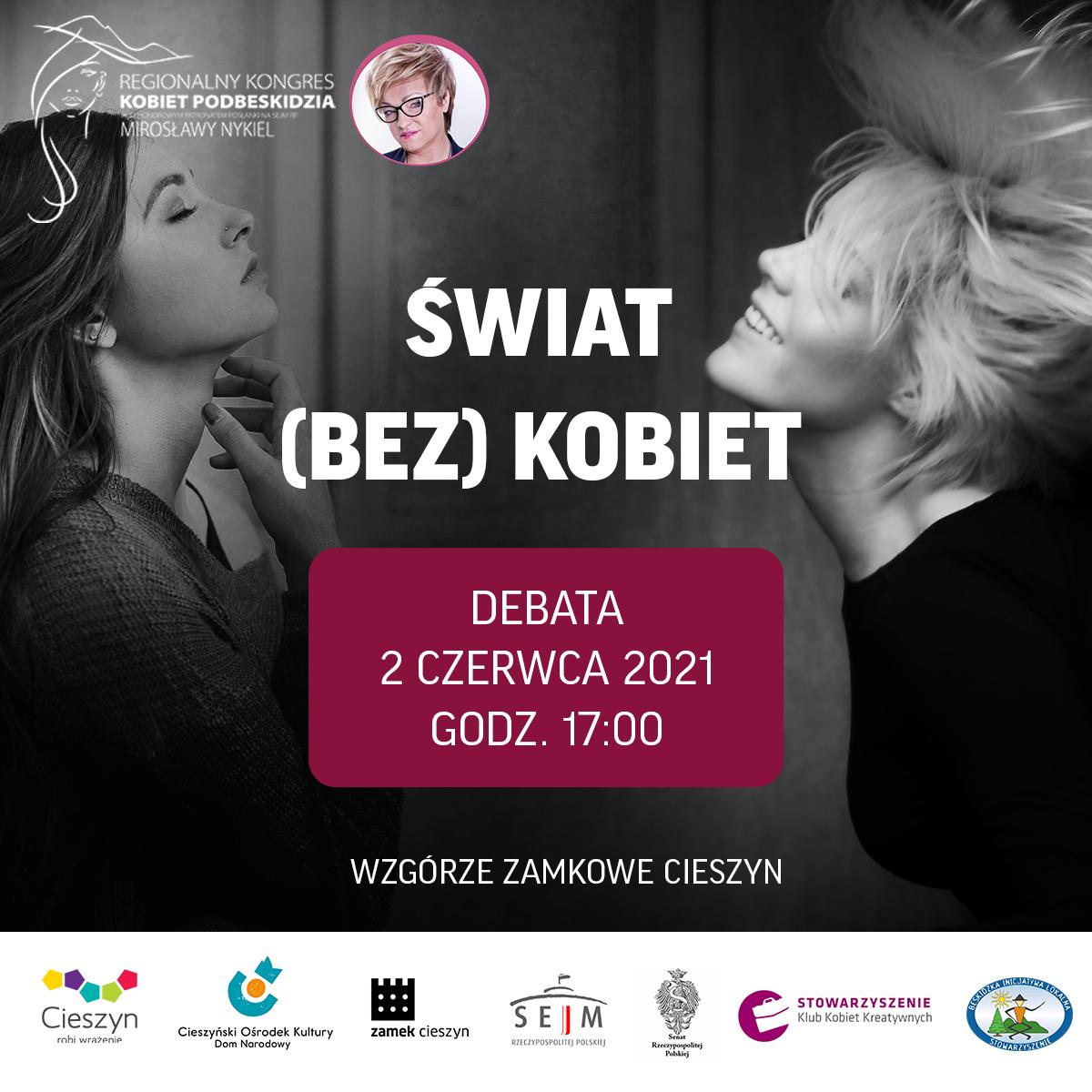 """Cieszyńska debata """"Świat bez kobiet"""""""