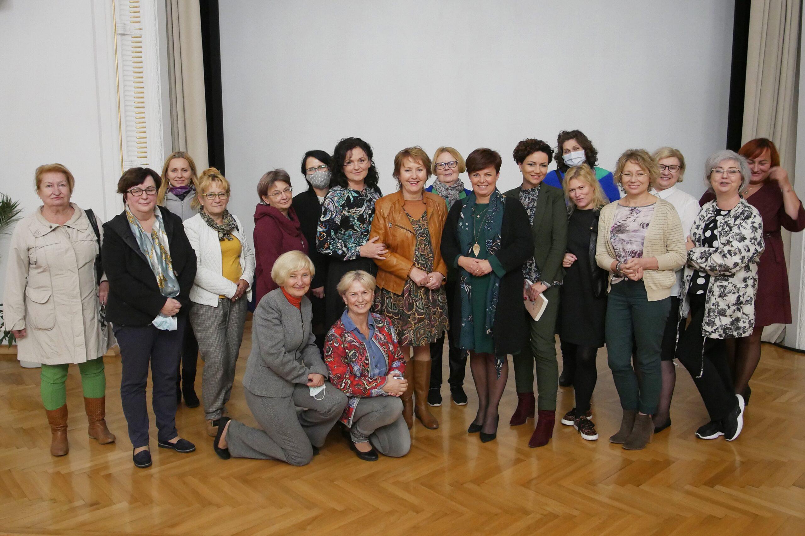 Spotkanie kobiet z Burmistrzynią Cieszyna