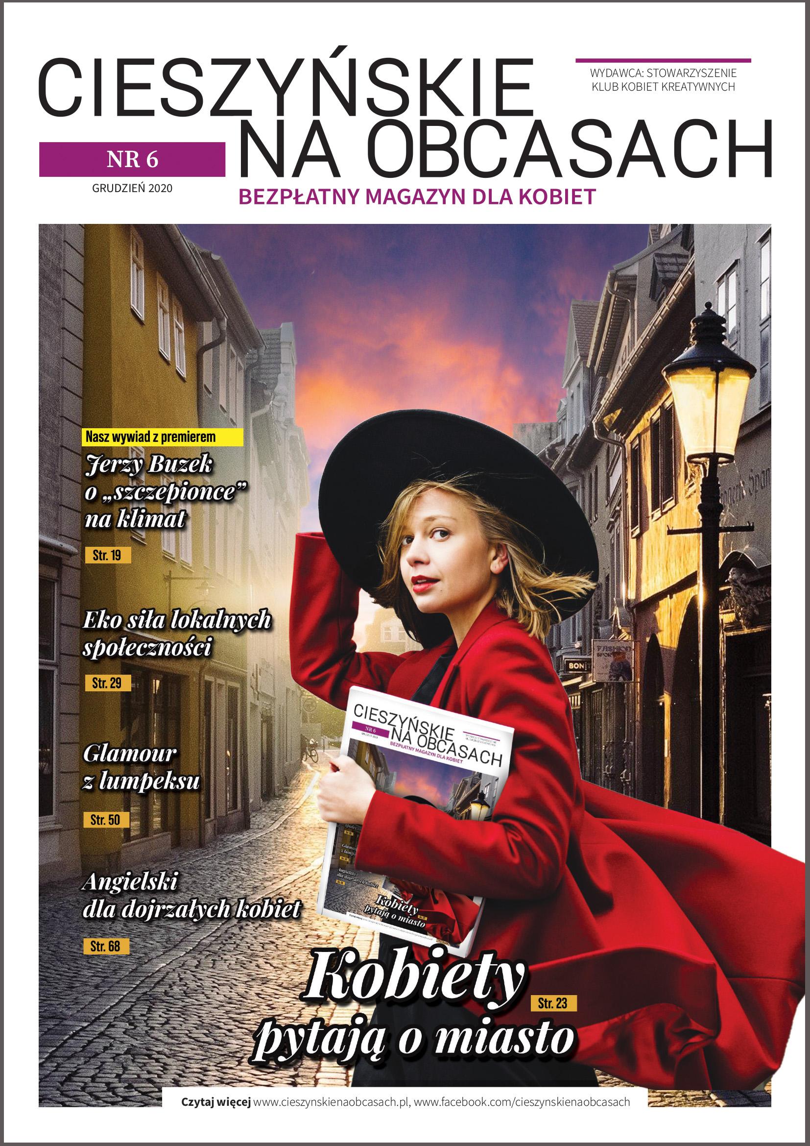 Magazyn dla kobiet CIESZYŃSKIE NA OBCASACH